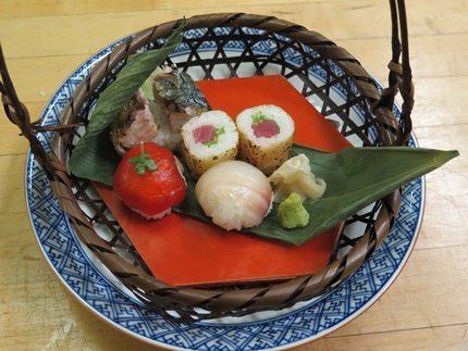 A Japanese feast