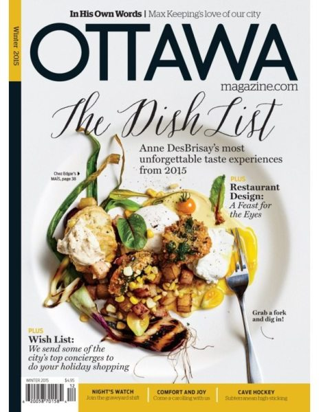 The Dish List 2015