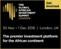 The 2016 Global African Investment Summit,