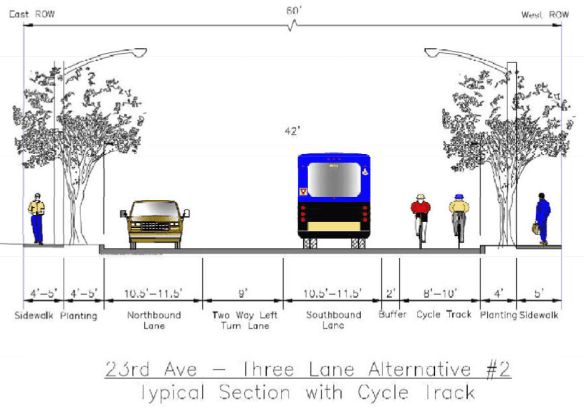 Learn more about 23rd Ave improvements from the Seattle Bike Blog