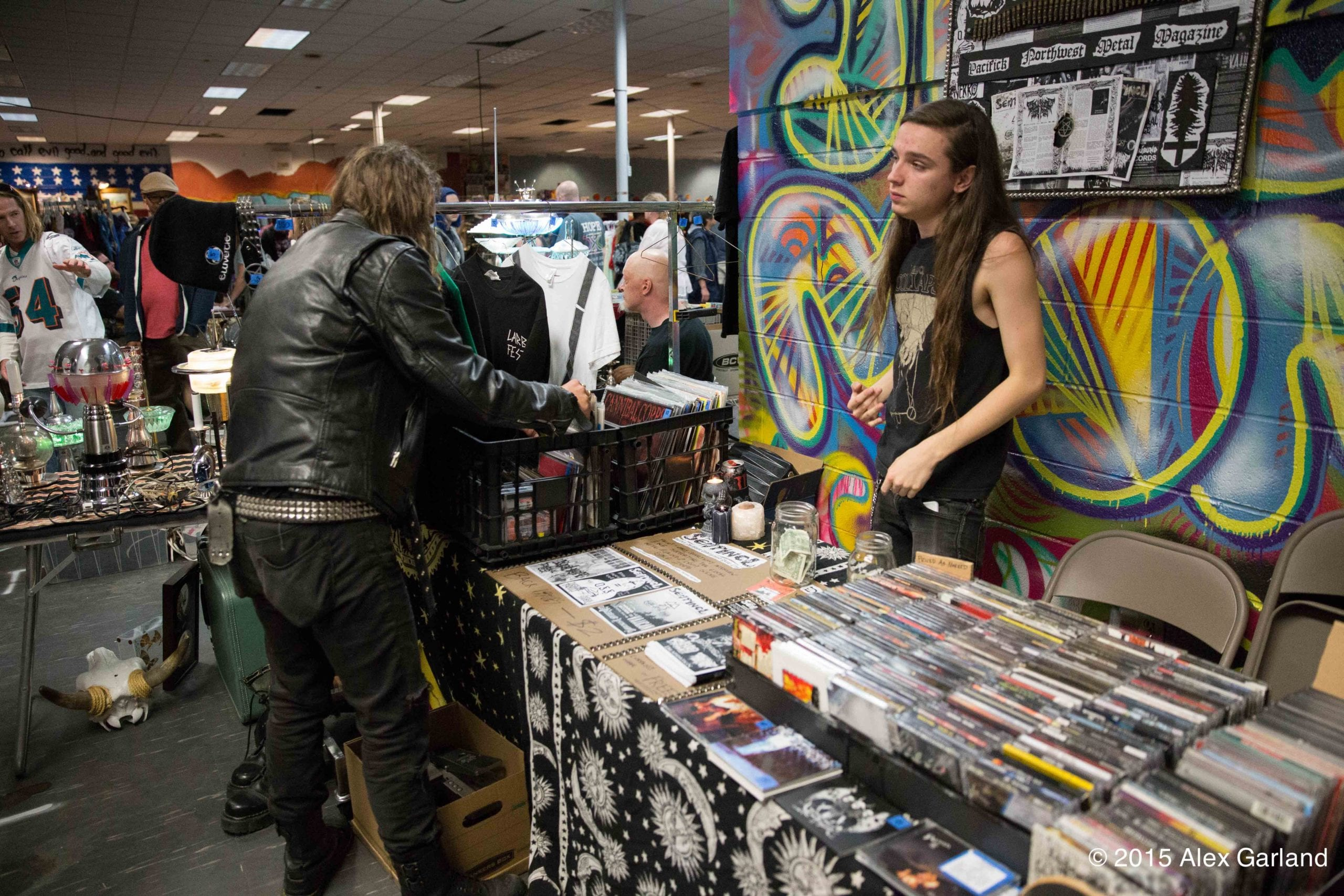 Chs Pics Punk Rock Flea Market At The Punk Rock Post Office Chs Capitol Hill Seattle