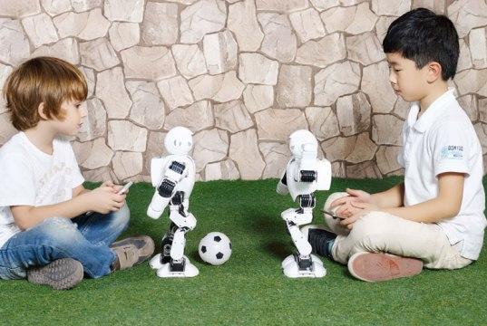 Alpha 1 Robot Fussball UB Tech