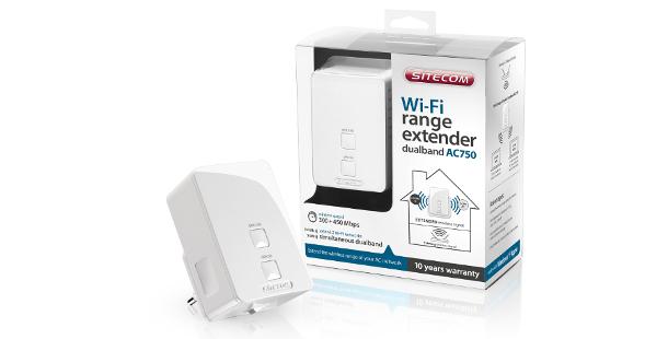 Mehr WLAN-Reichweite mit dem Sitecom Range Extender