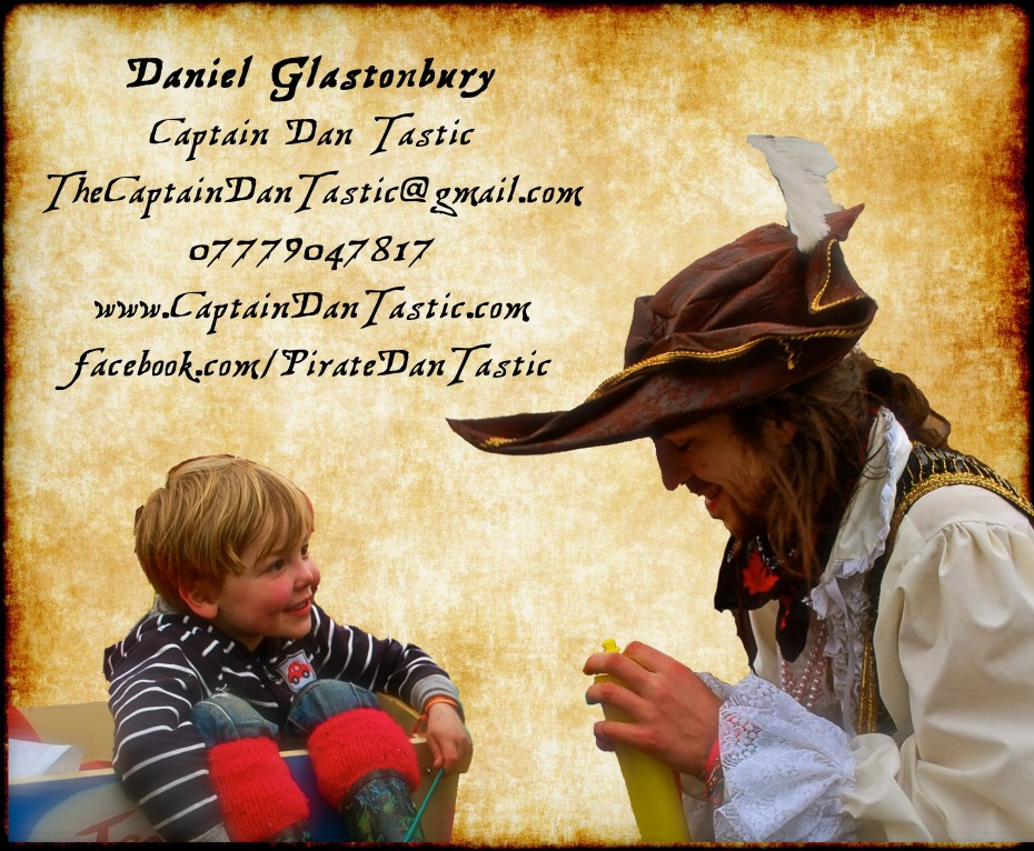 pirate entertainer - pirate children's entertainer - Manchester - Greater Manchester - North West
