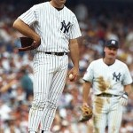 Kenny Rogers' didn't get off on the right foot in pinstripes. (Photo: Daily News)
