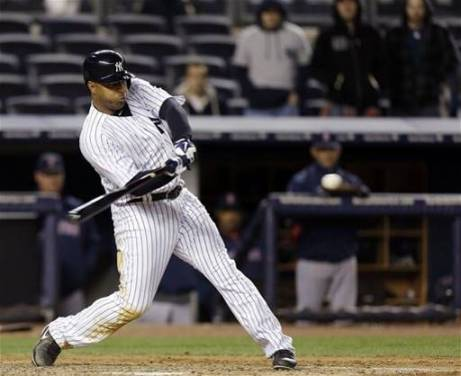 Vernon Wells has been the Yankees' main weapon against left handed pitchers. (Photo: Getty Images)