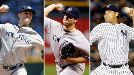 Does the answer to the Yankees' bullpen lie in their starting rotation depth? (Photos: Getty Images)