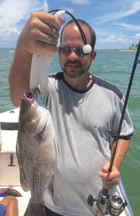 Snapper 2, Sanibel Fishing & Captiva Fishing, Thursday, 7-23-15 ~ #Sanibel #Captiva.