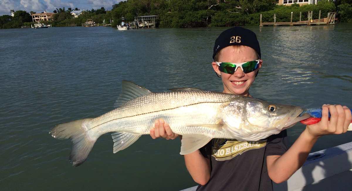 Captiva Fishing Tuesday, 7-28-15: Snook ~ #Sanibel #Captiva