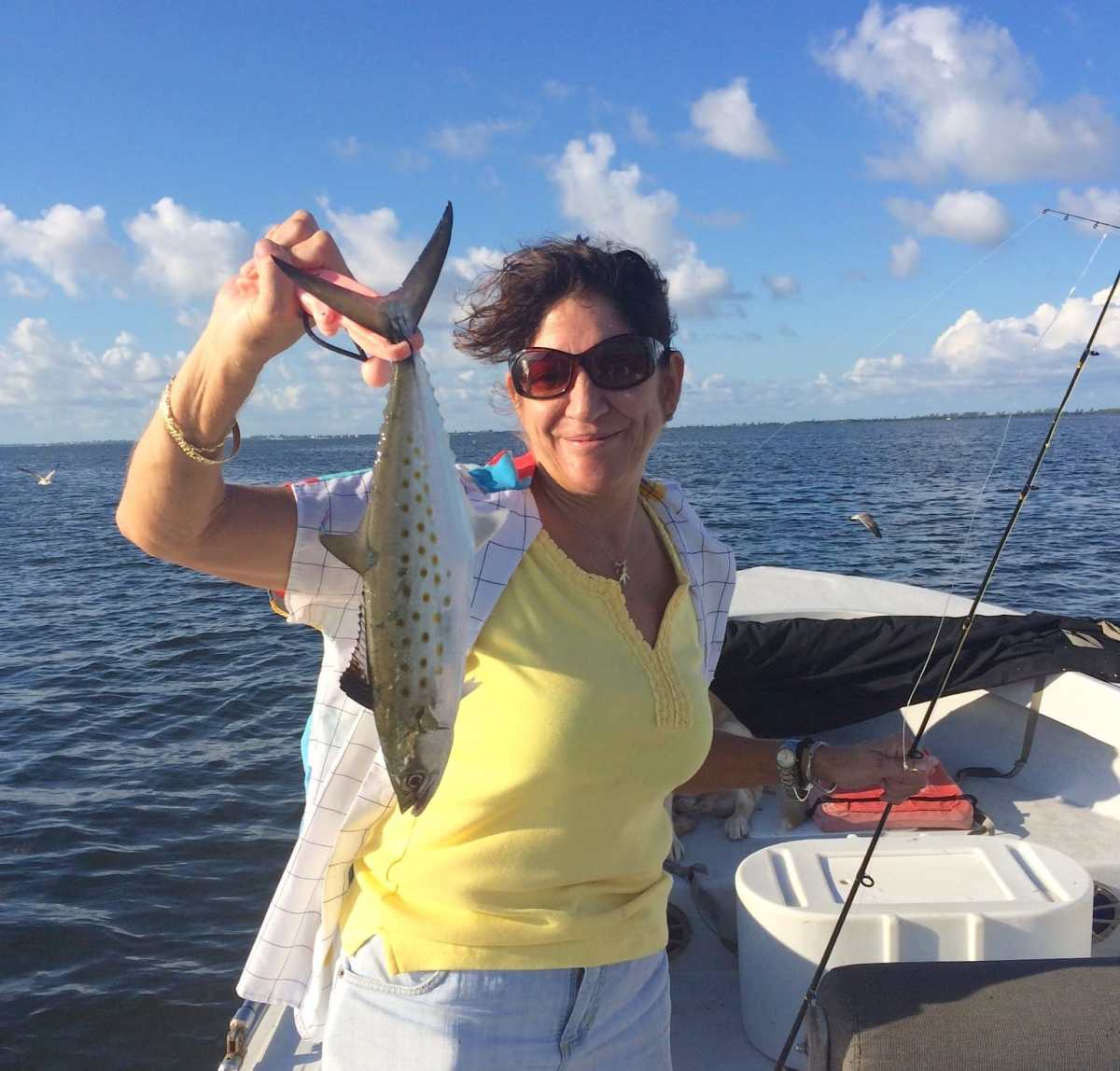 Captiva Fishing, Thursday, 10-1-15: Spanish Mackerel ~ #Sanibel #Captiva