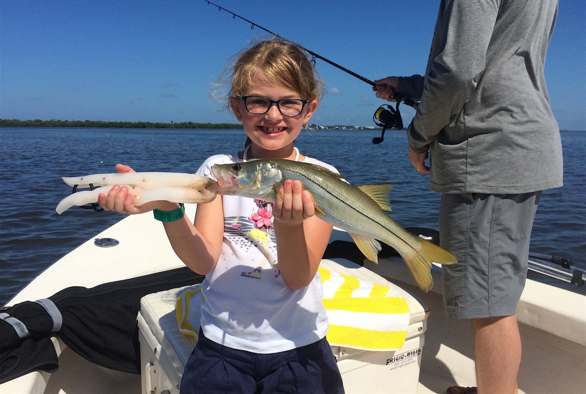 Captiva Fishing, Snook, August 28, 2016