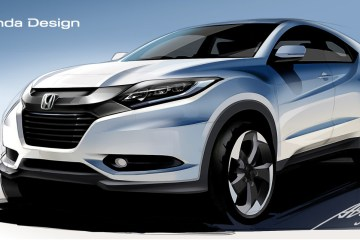 HR-V Sketch Design