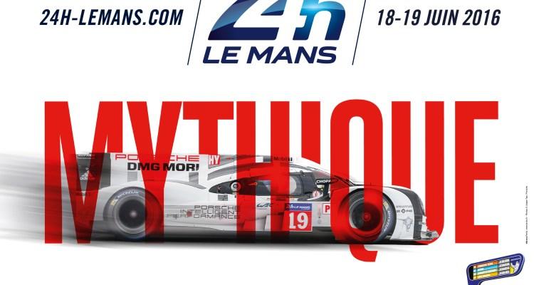 Poster della 24 Ore dl Le Mans 2016