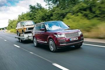 Land Rover Transparent Trailer