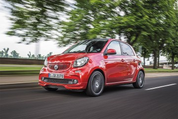smart BRABUS forfour; Exterieur: cadmium red;  Xclusive Krafts