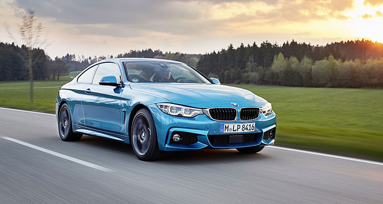BMW 440 i First Drive COP
