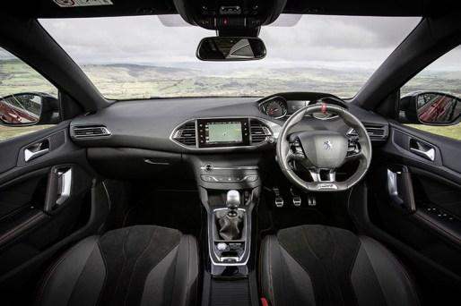 PEUGEOT 308 GTi interni