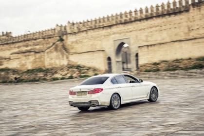 BMW 520 vs Marocco 10