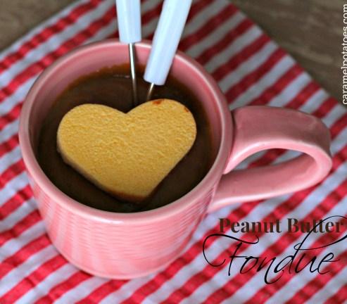 peanut butter fondue