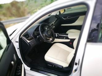Interior Lexus GS 300h