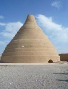 Ice houses outside Yazd