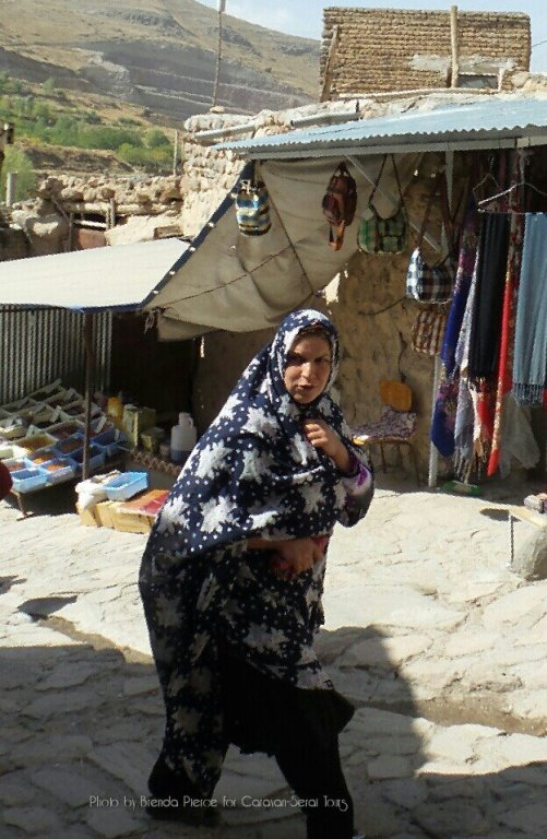 Woman in the village of Kandovan