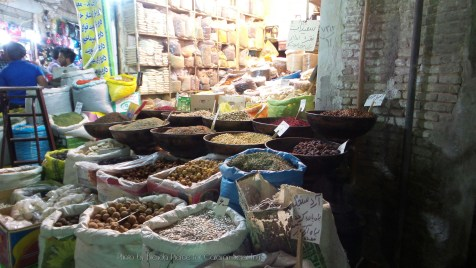 Spices and nuts in Kerman