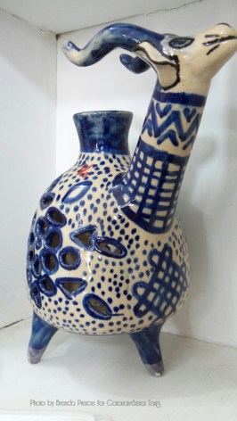 Traditional pottery in Natanz