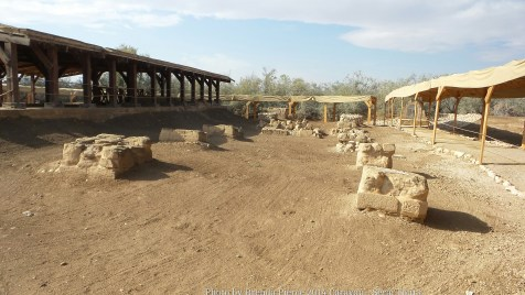 Excavation site at Bethany