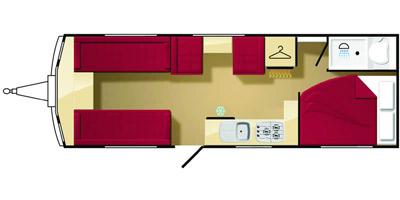 Elddis Avante 626 floorplan