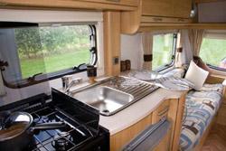 The kitchen in the Zenith