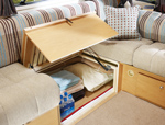 Lift up bed box in the 534