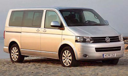 Volkswagen T5 - runner up motorhome base vehicle