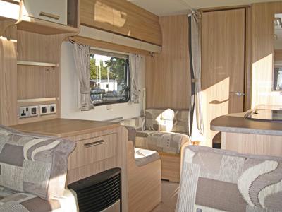 Coachman Amara interior