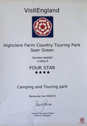 Four Star Site - Visit England