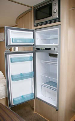 The huge fridge in the Sterling Eccles