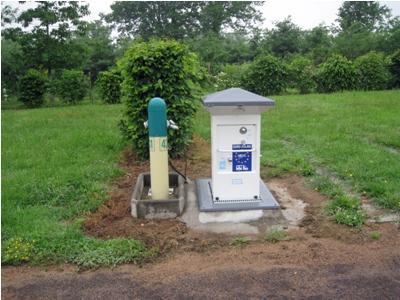 Motorhome service point