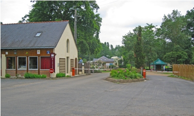 Site entrance