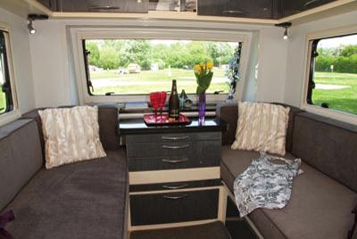 Stealth T58 Caravan styling dresser