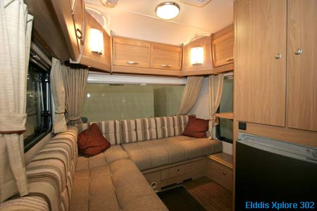 Elddis Xplore living area