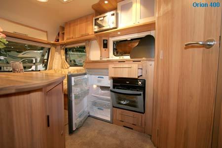 orion 400 kitchen