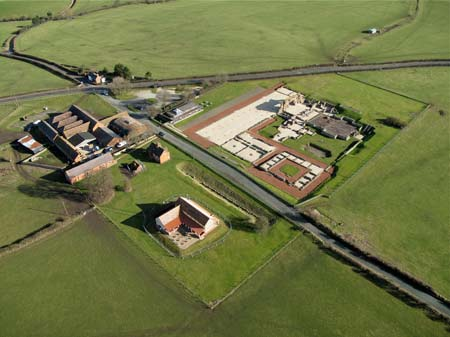 Wroxeter from the air