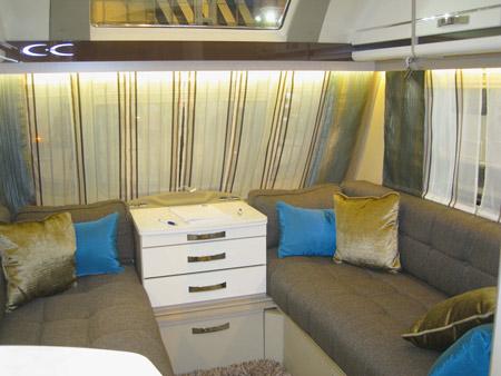 Swift Colour Concept Caravan - Bold Colours