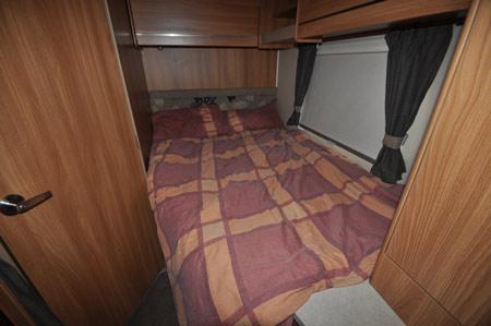 Swift Escape 662 Motorhome Bedroom