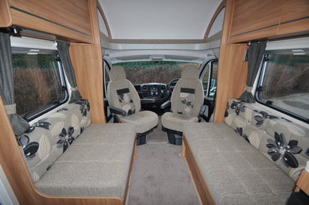 Swift Escape 662 Motorhome Lounge