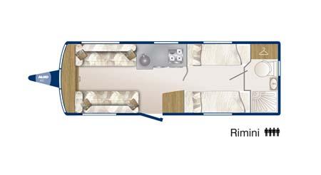 Bailey Pegasus GT65 Rimini Floor Plan