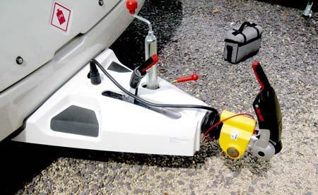 Swift Sprite Alpine 4 berth caravan AKS Stabiliser