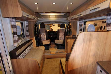 Bailey Approach Compact 540 Motorhome Forward view
