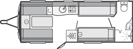 Swift Challenger SE 565 Floor Plan