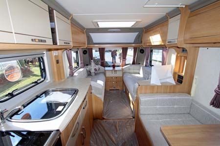 Coachman Laser 620 Forward view